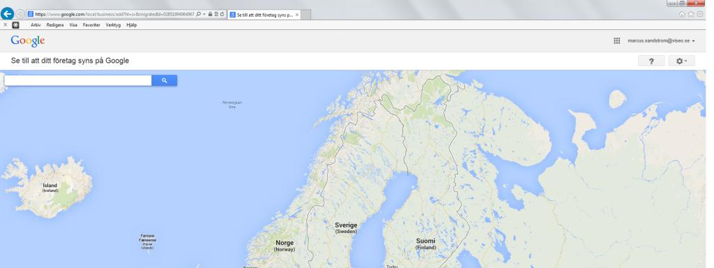 Nya Google Places lägg till företag