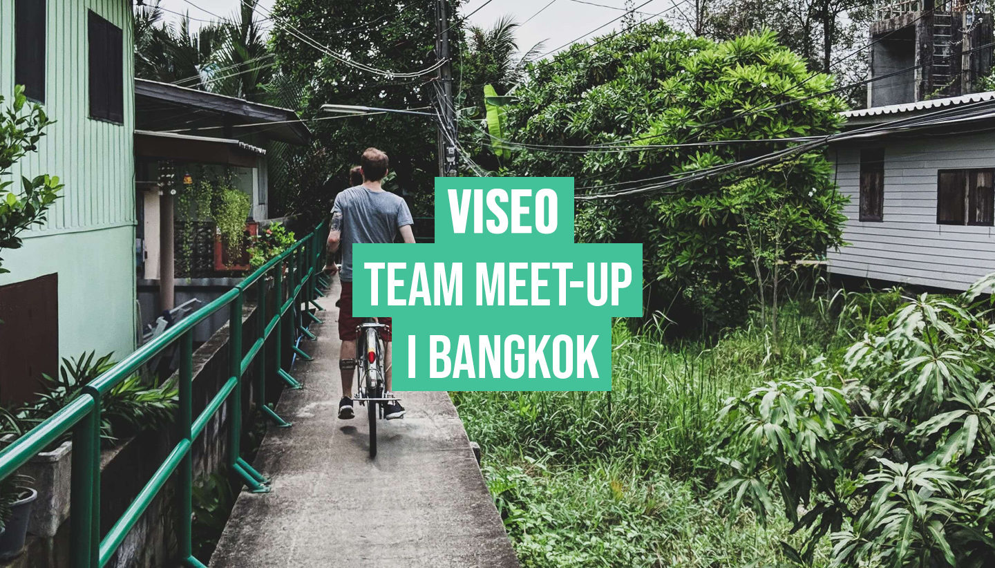 Team meet up i Bangkok