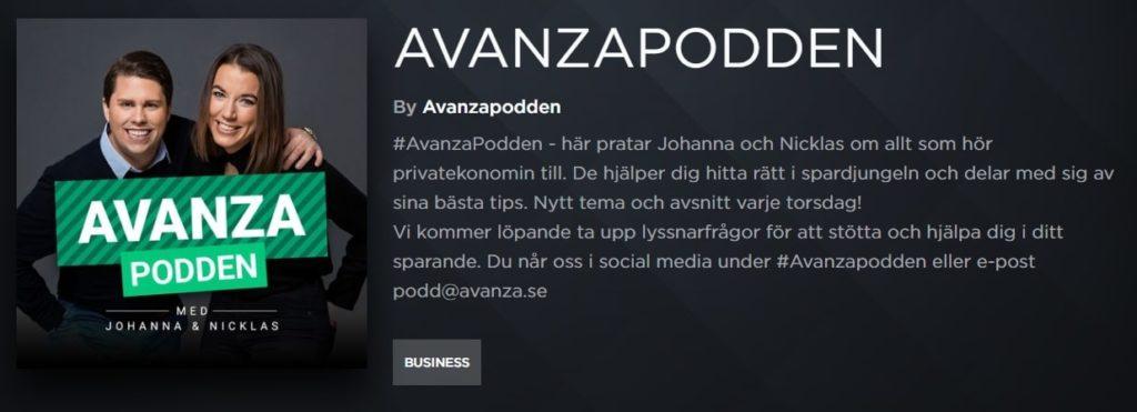 Avanzapodden