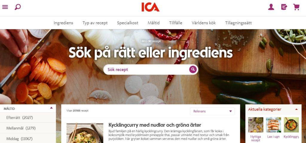 Ica_recept