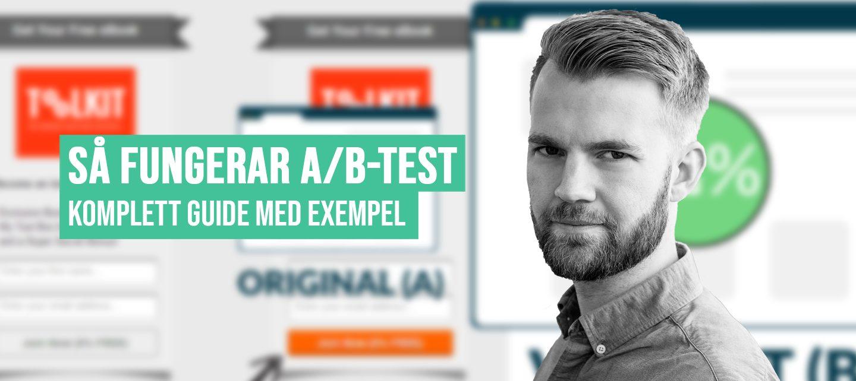 Vad är A/B-test? Komplett guide med exempel