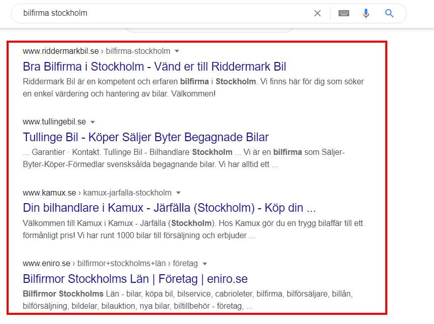 seo företag stockholm