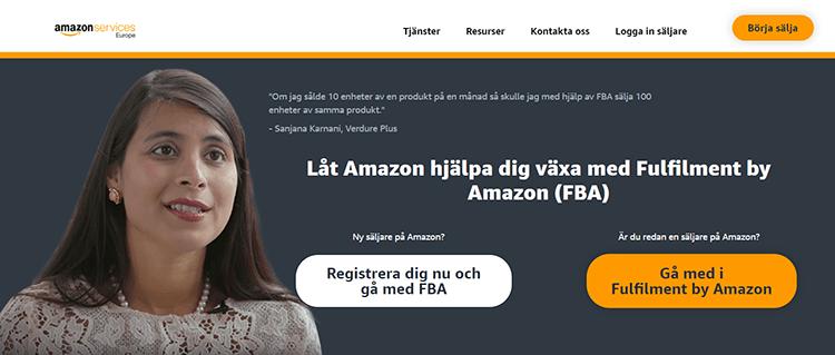 Amazon FBA Sverige – Så fungerar det (+ för- och nackdelar)